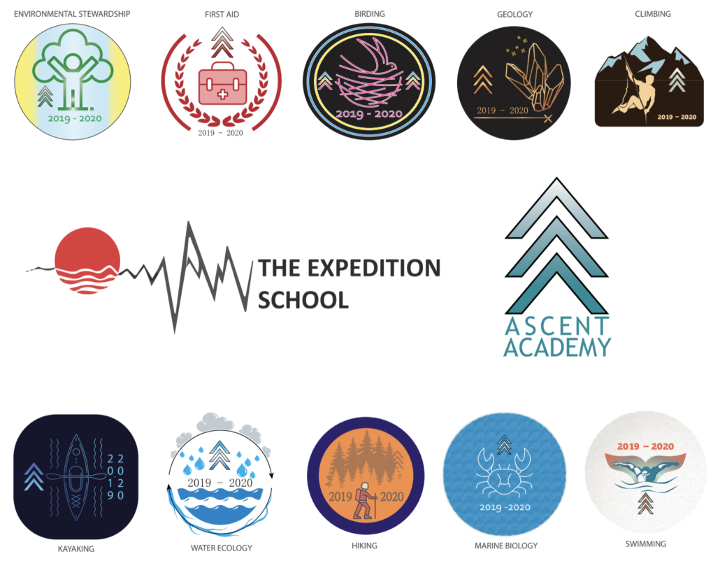 Ascent Academy Badges